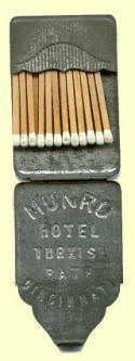 Matches holder