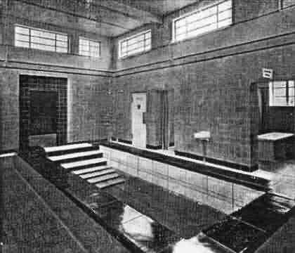 Plunge Pool In Northampton Turkish Bath In 1936