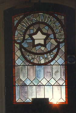 Stained-glass window, Swindon Health Hydro