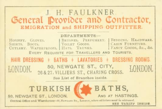 Back of rate card