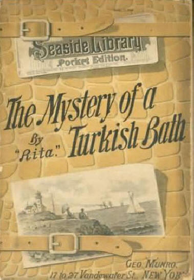 Front cover of 'The Mystery of a Turkish bath'