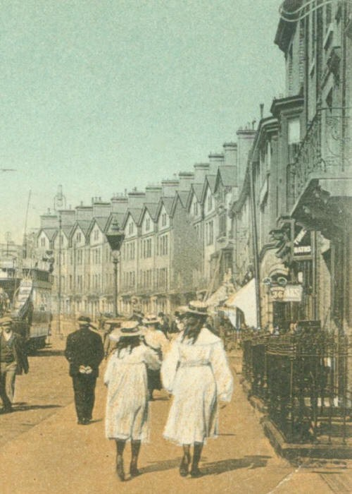 View down Prince of Wales Road, Norwich, c.1903