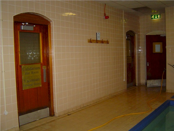 Inside the Erdington baths