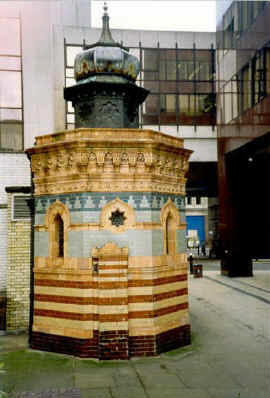 Vestibule of Nevill's New Broad Street baths, 1999