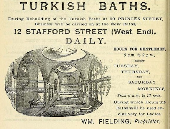Advert from 1888 directory