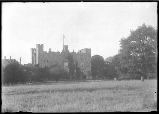 Haughton Castle at the end of the 19th century
