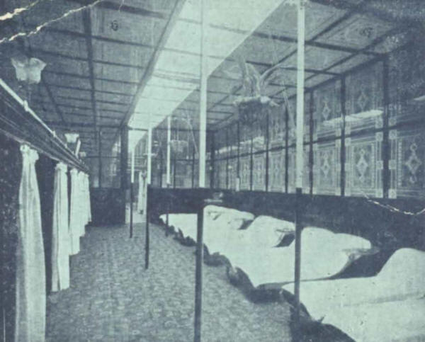 The cooling-room, Edgar Buildings