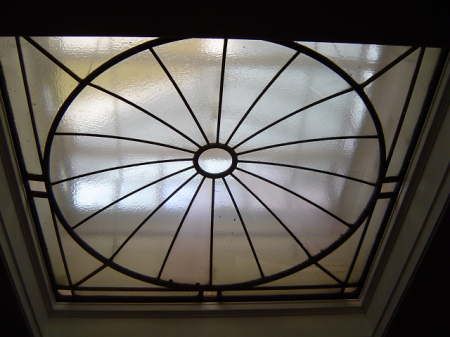 Large central lantern in cooling-room