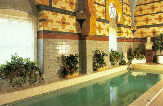 Royal Turkish Baths, Harrogate: the cold plunge pool