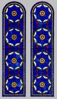 Stained glass panes