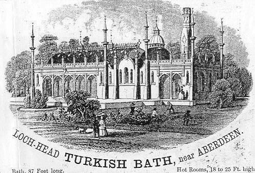 Trade card for Lochhead Turkish baths