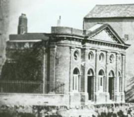 The building in 1859
