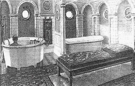 Victorian Turkish Baths On Ocean Liners Ss Adriatic