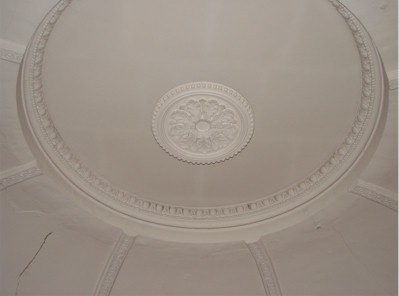 Underside of the dome