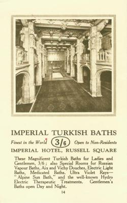 From a booklet advertising nine hotels in the Imperial group